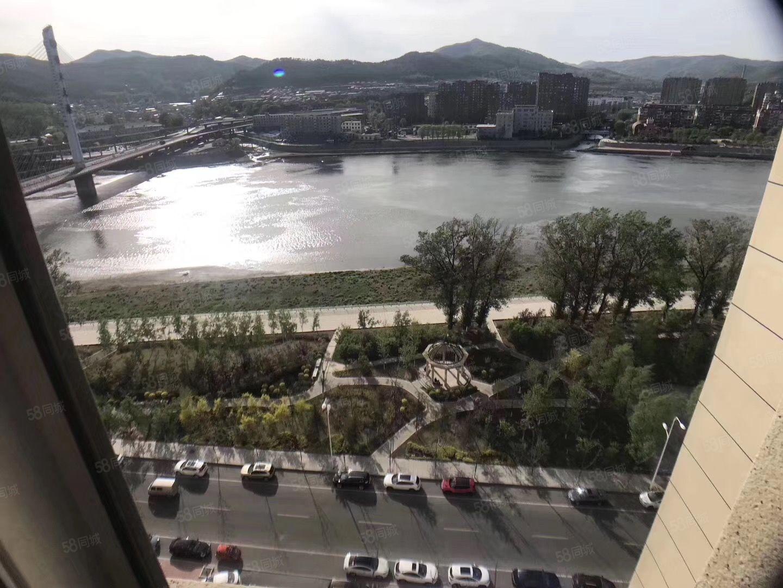十三中学区大禹城邦特价房户型合理江景5769每平