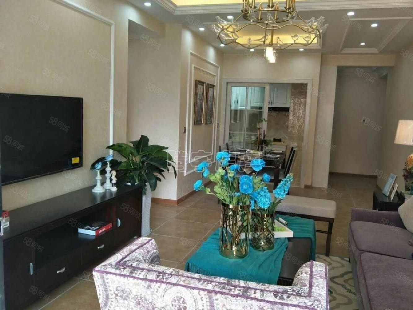 泽胜温泉城精装三室,北欧装修风格价格75.8万