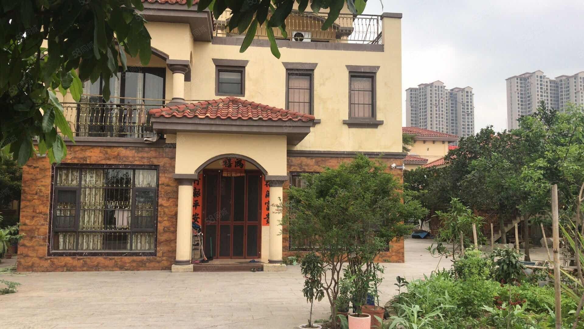 龙熙山独栋降20万花园600平方豪装朝南首付200万即可入住