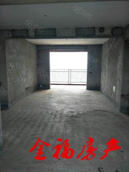 蓝鼎东边户,140平大户型,南北双阳台前后无遮挡,有钥匙!