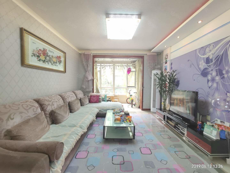 華洋廣場九中十四小精裝多層二樓兩居室客餐通送曬臺