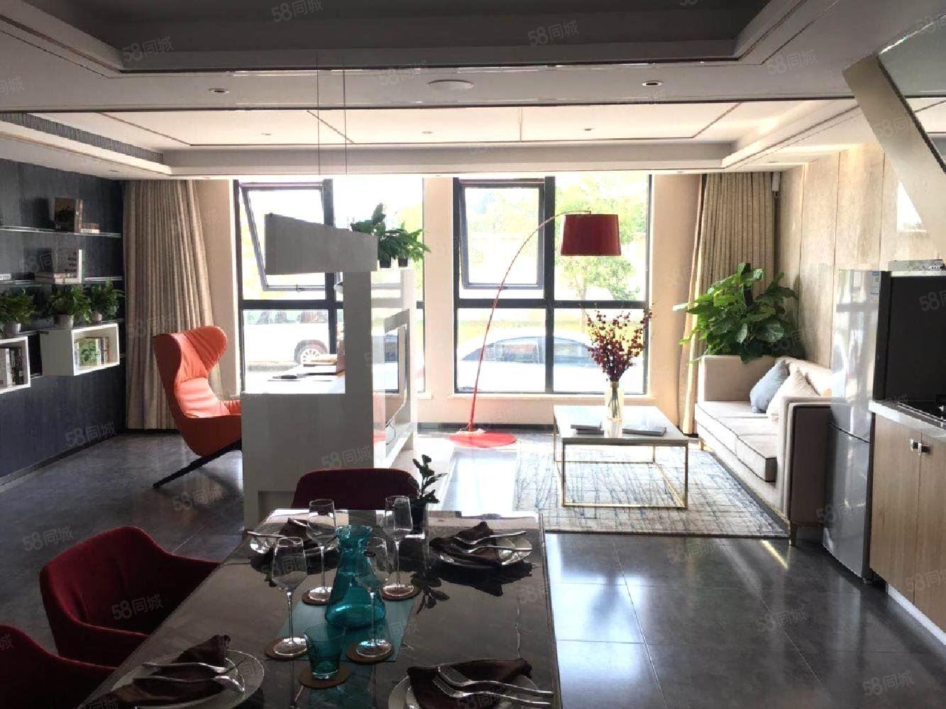 0居間費買現房商鋪310國道附近五洲國際包租十年層高9.1米