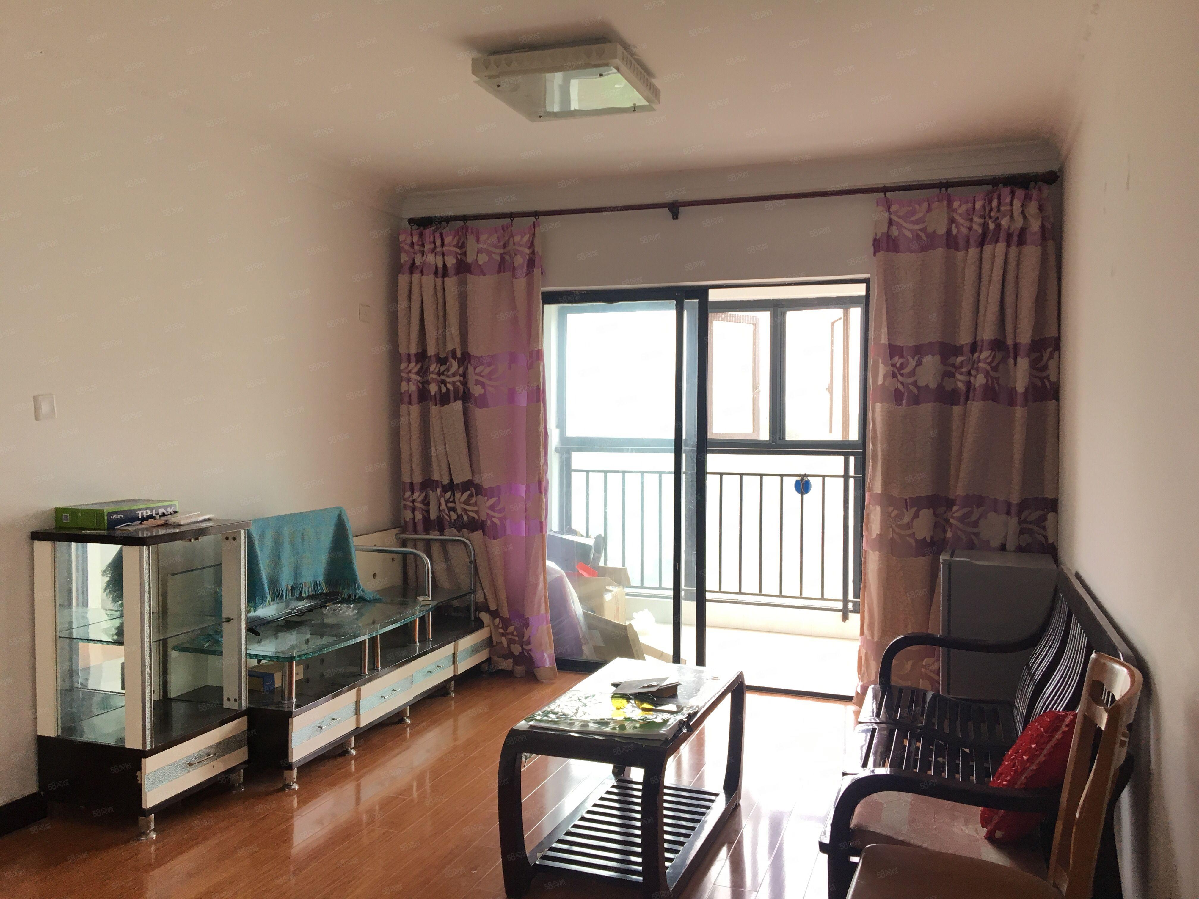 汉江新城2室2厅38万带装修产证满二可按揭