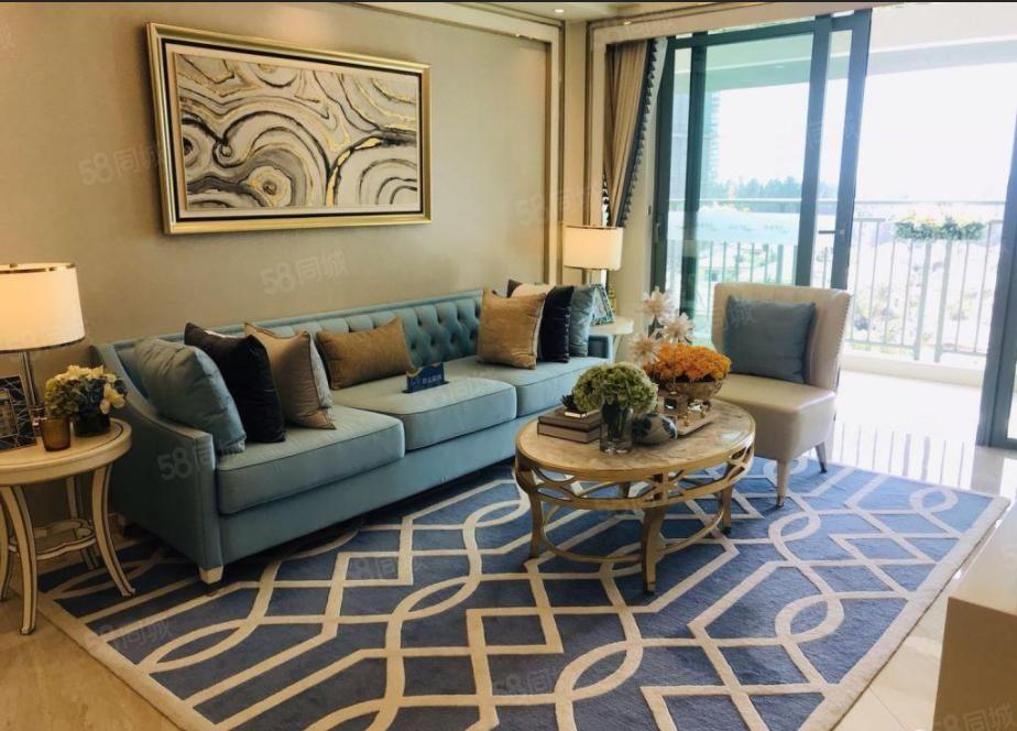 清水湾一线海景房(雅居乐海镜新天)户型通透,环境优美,纯板楼