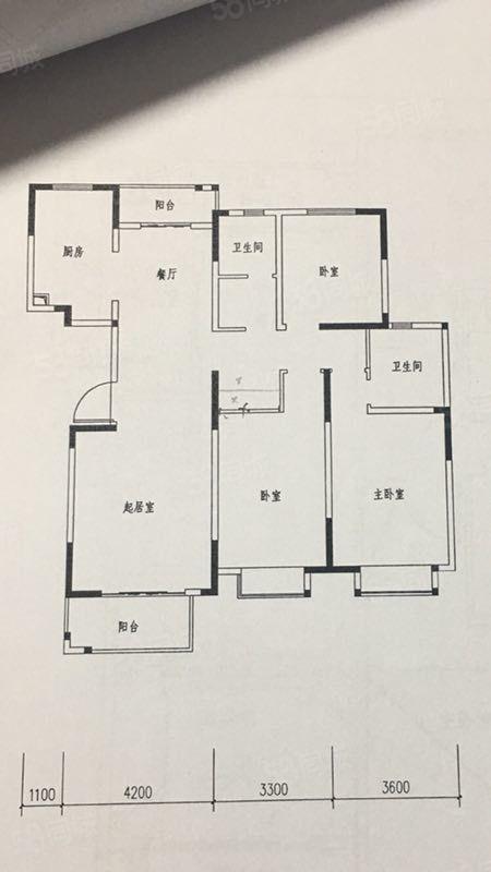 丽园通透大三房,送装修,有房本,满两年,看房随时有钥匙