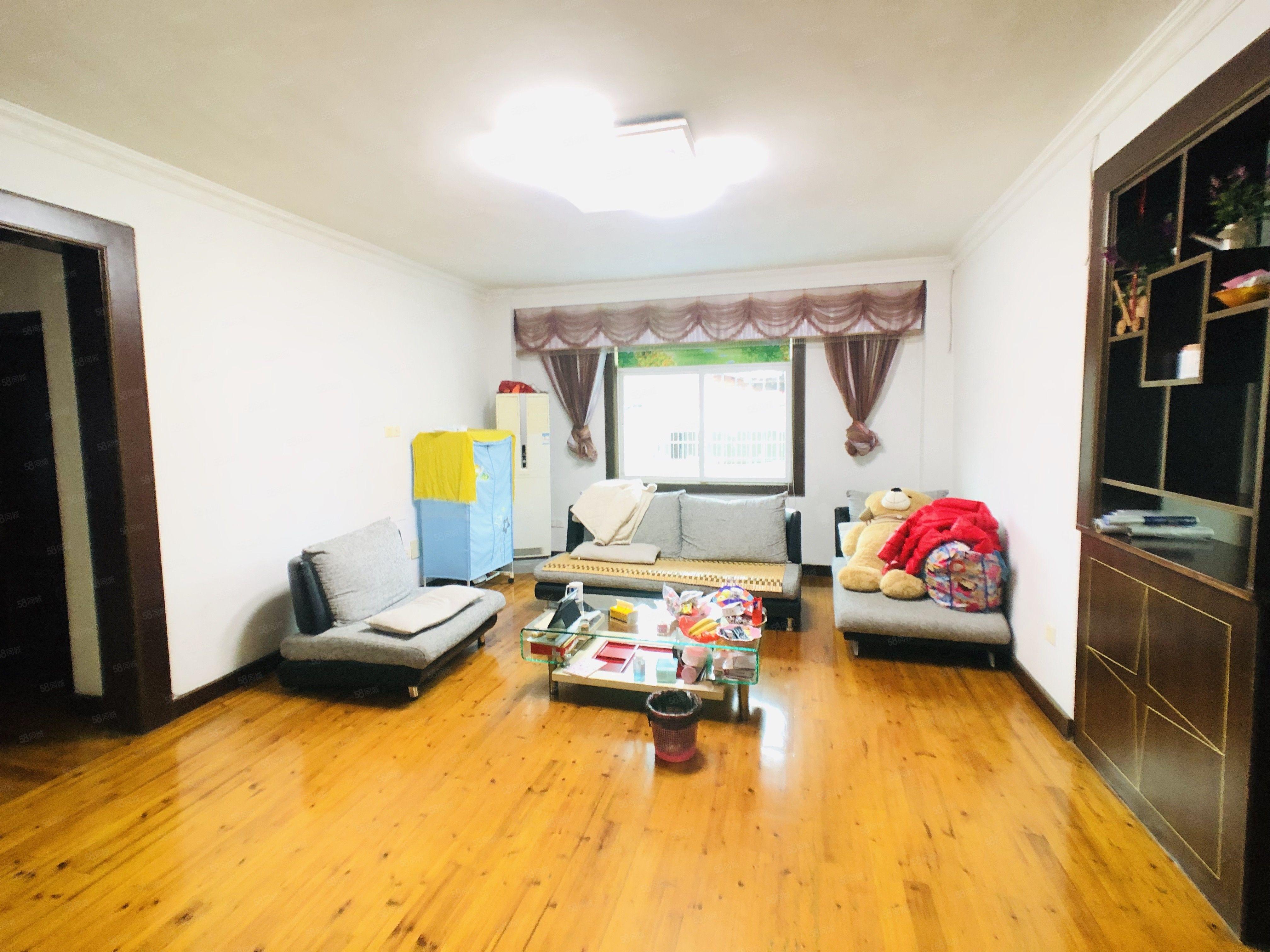 华清楼,三面采光,四室两厅两卫,实木装修,拎包入住,127平