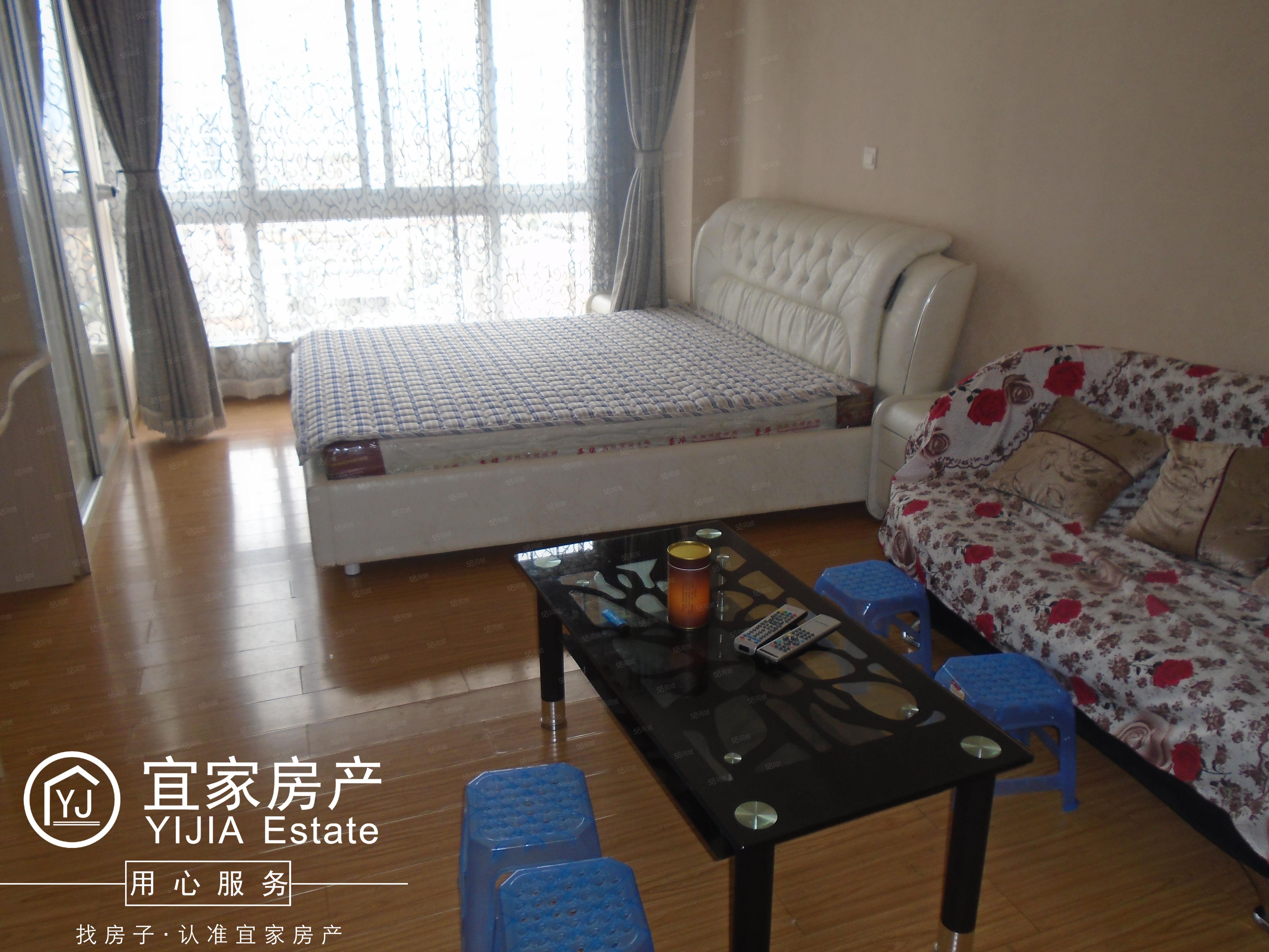 时代广场,1室1厅1厨1卫,单身公寓,精装修,带全套家具澳门金沙平台