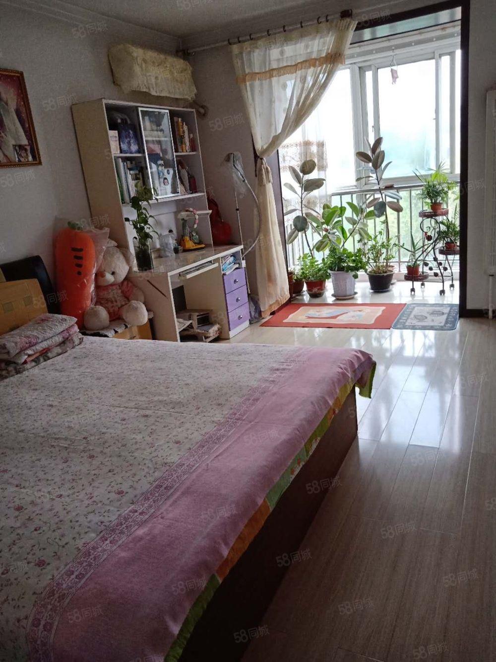 瑞安花園四層,兩室兩廳93平米,南北通,拎包入住