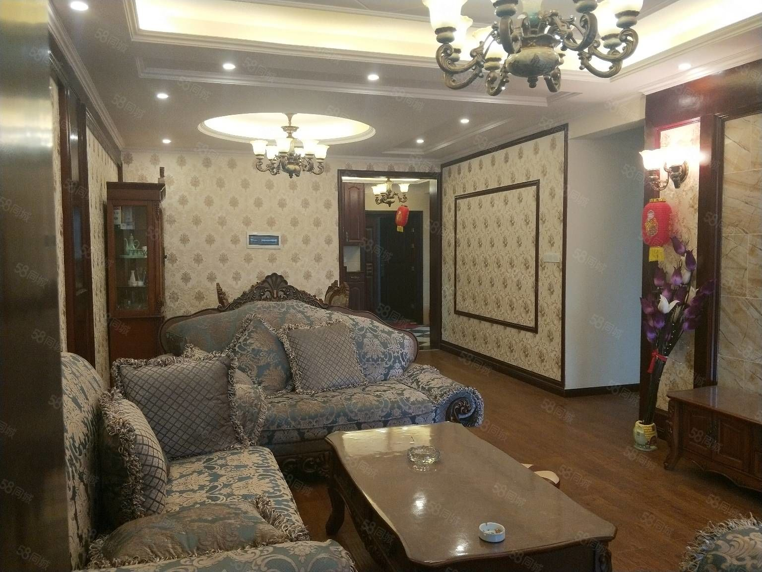 急卖商务区翰林名苑豪装装修都花了40万看房方便