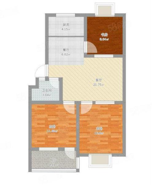 急售龙田名郡三室东边户,带储藏室双气,停车方便,带家具家电。