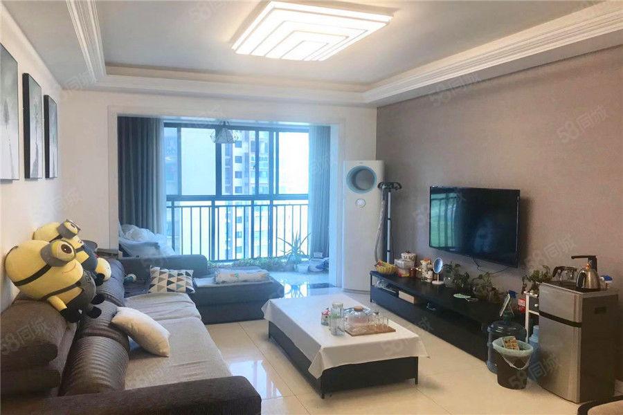 可按揭老江北华兴观澜上域精装三居室临九小低于市场价