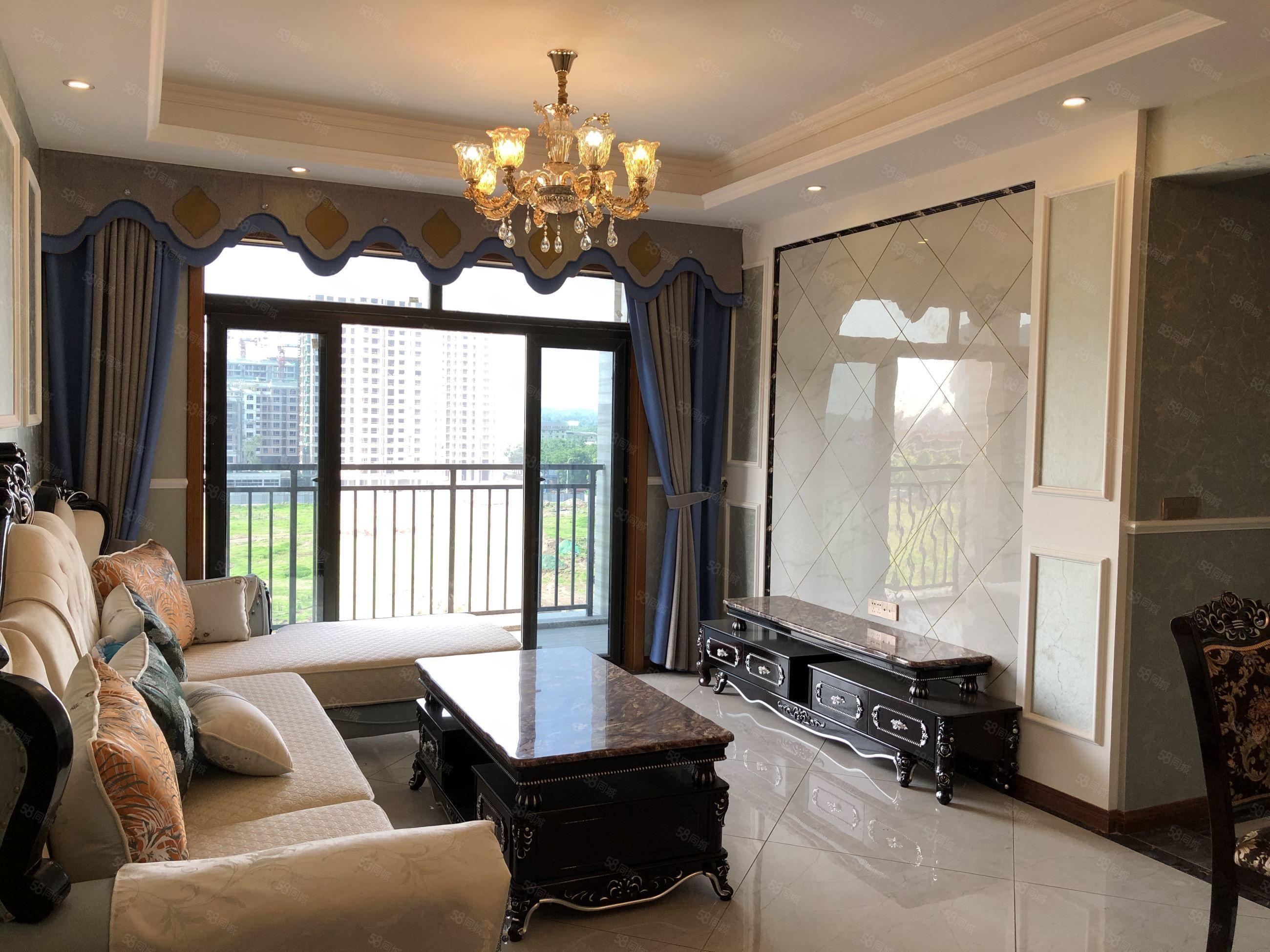 樓層好,視野廣,房出售,金川花園正三房。