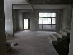 奥特莱旁双拼别墅联排别墅带大花园,送地下室车库,现房