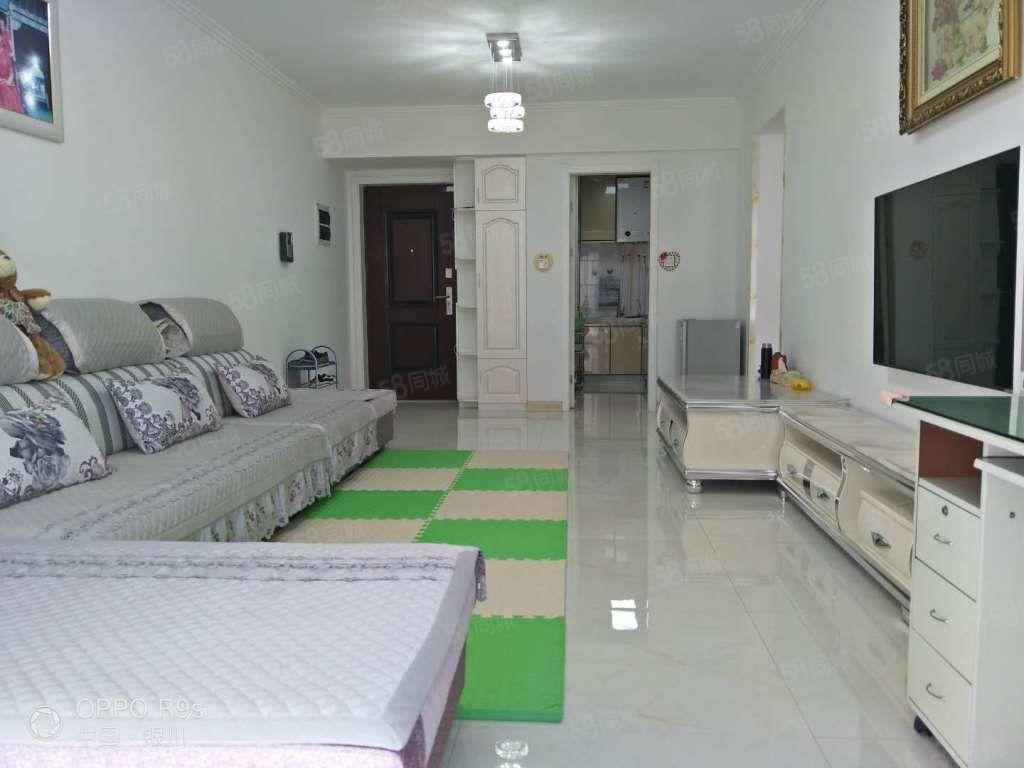 万达华宅精装修2室2厅家具家电齐全可随时看房