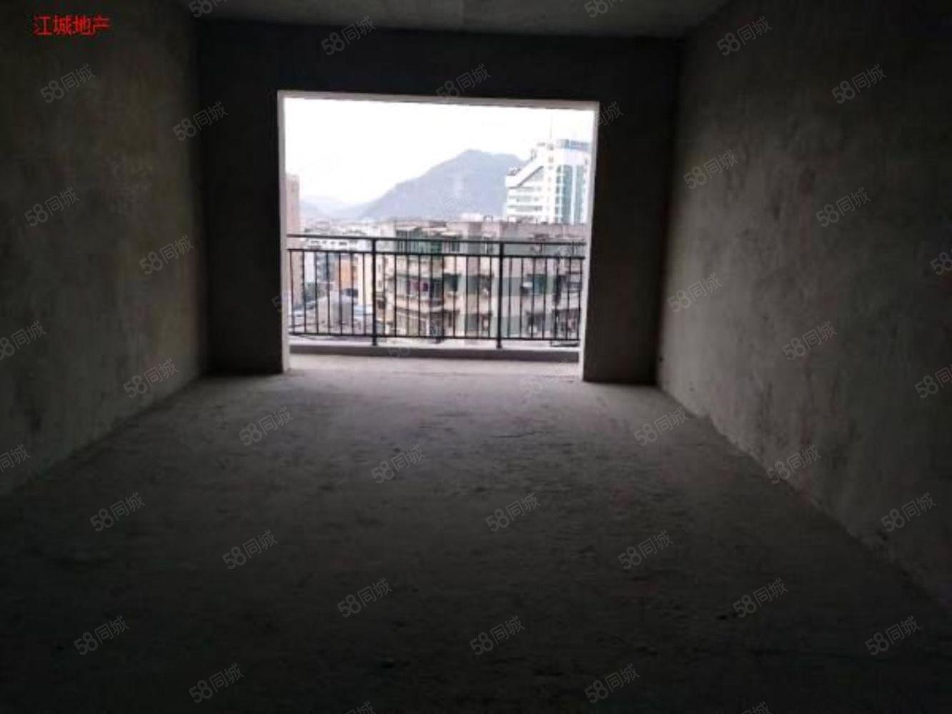 金鳞半岛B区电梯带大平台三室毛坯可按揭