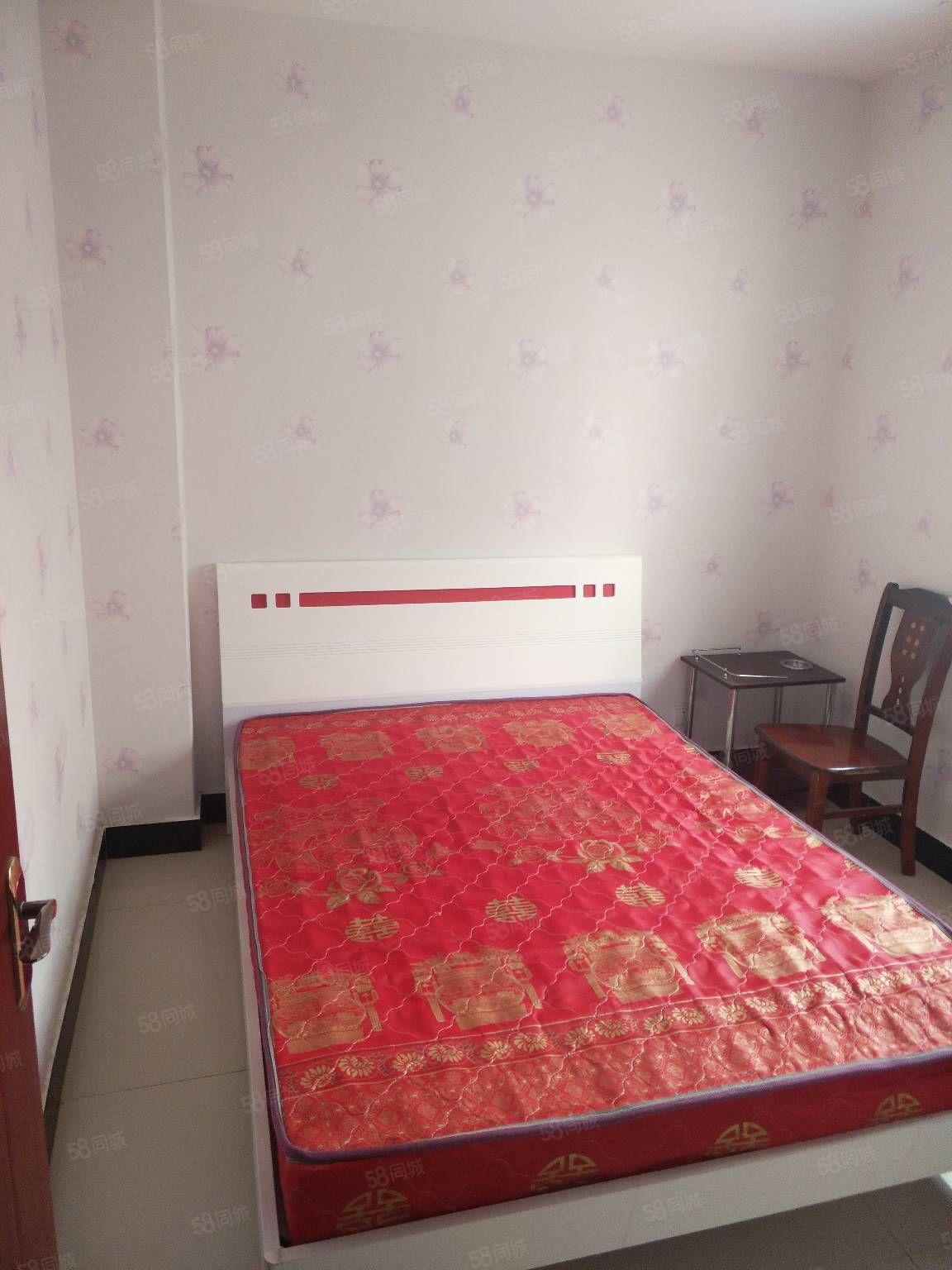 航天家园附近4楼2室1厅带家具热水器
