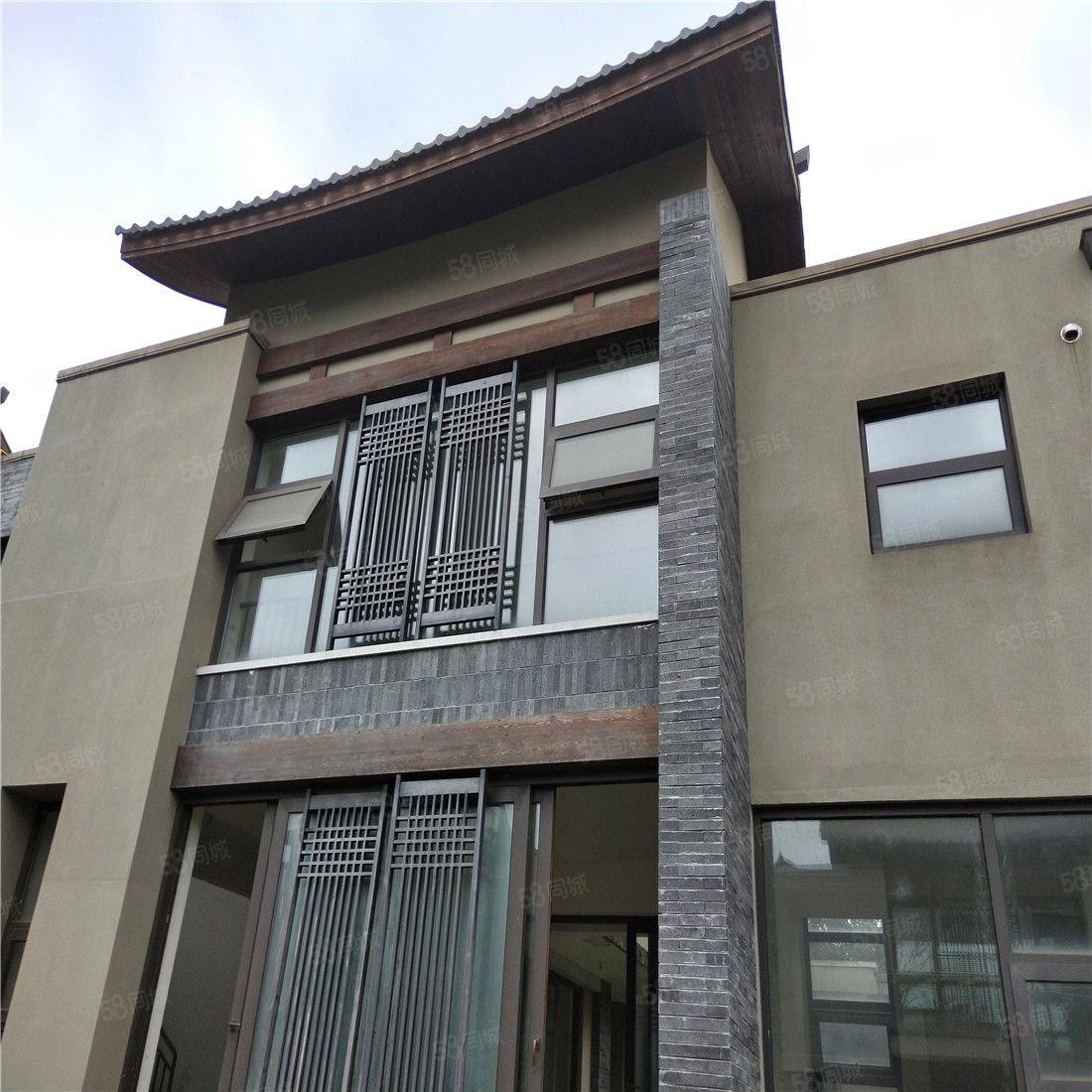 金堂中國風格四合院標準兩進帶后花園和天井兩層古風格別墅獨棟
