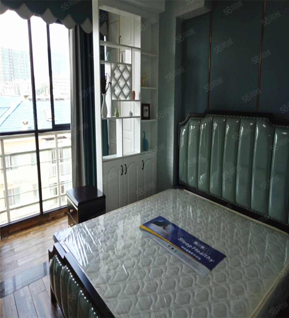 国光附近碧桂园一线江景环境舒适温馨两房全新装修