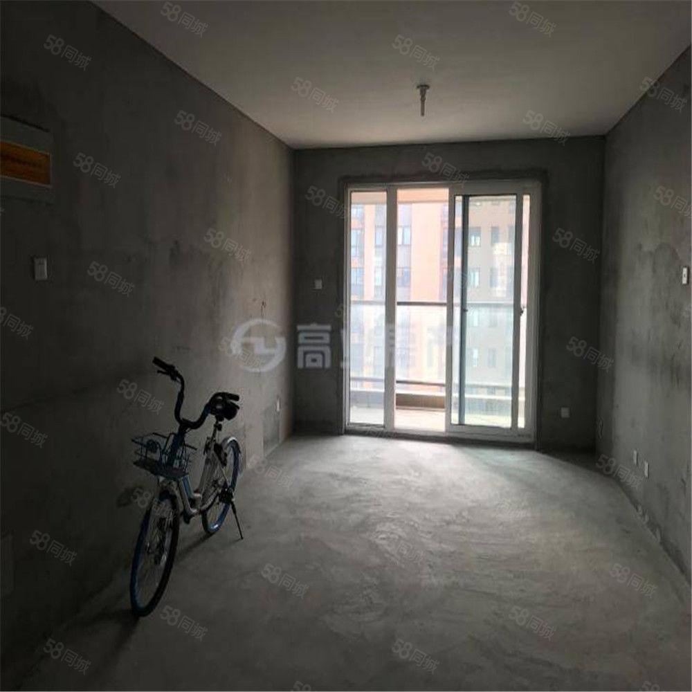 龙池地铁口冠城二期新房毛坯99平加赠送房间户型超好四房