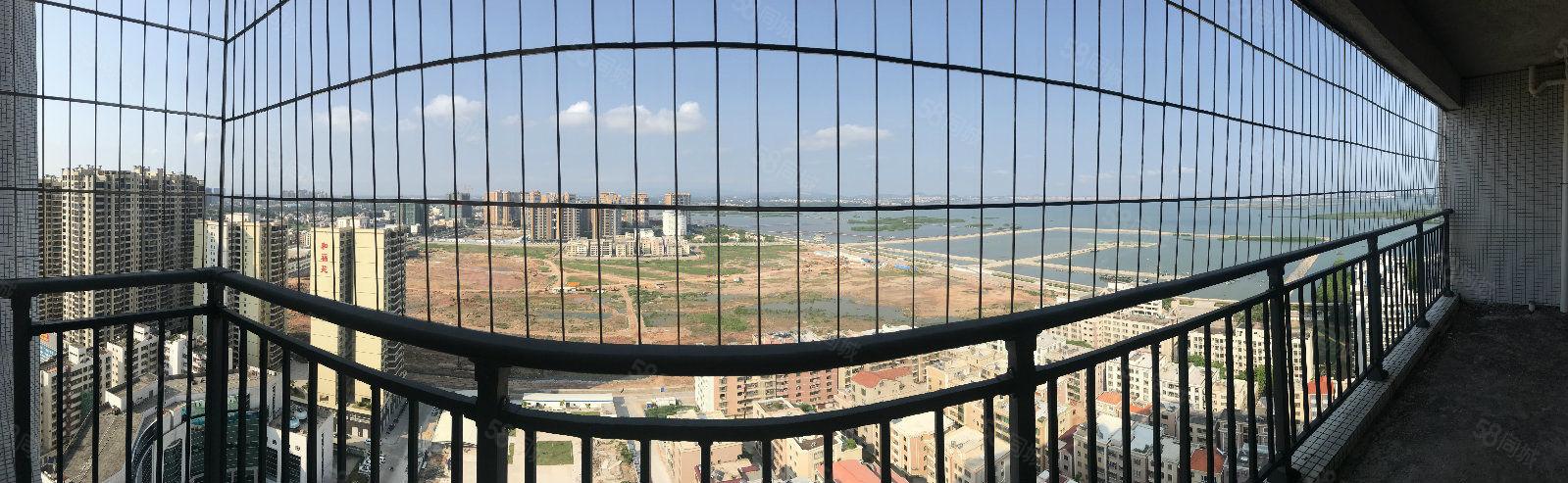 飞鹏丽涛五期3房超美海景房户型方正价格合理随时看房