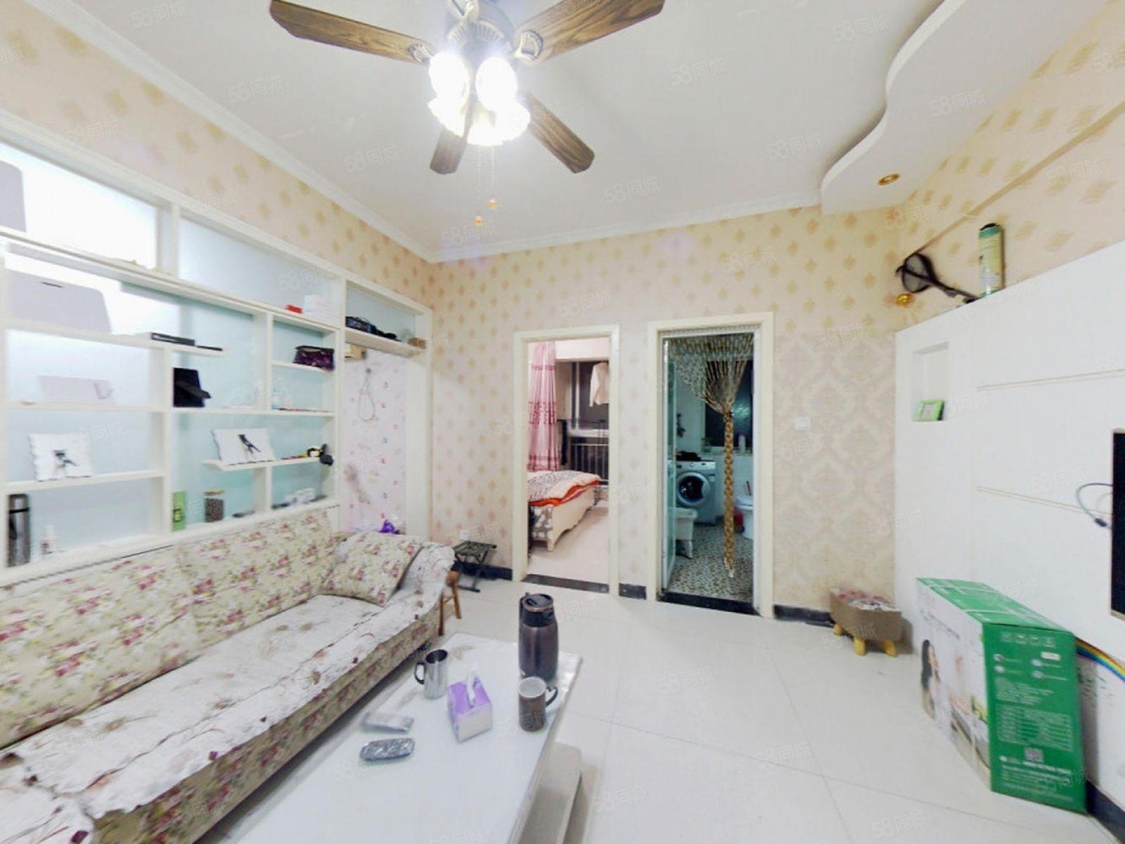 地铁旁航海东郡香域巴黎两居室,满五年唯一,业主诚心,看房方便