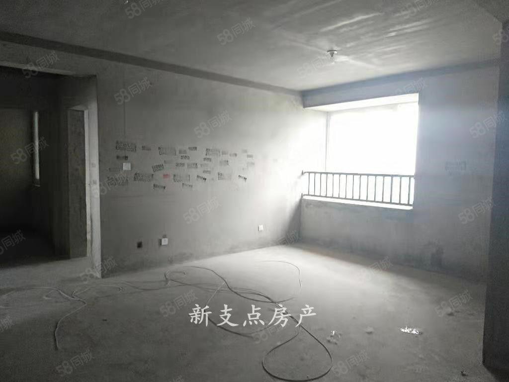 东湖印象中层109平三室毛坯现房售价55万