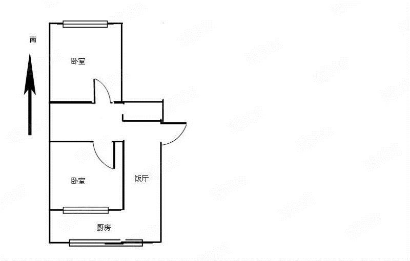 盛世新城简单装修多层2楼南北通透可贷款房照包更名