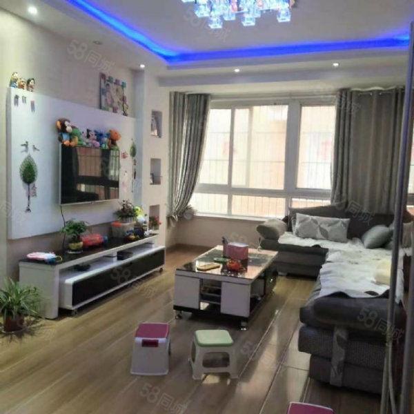 东方明珠三室两厅精装修急售东边户位置好低于市场价
