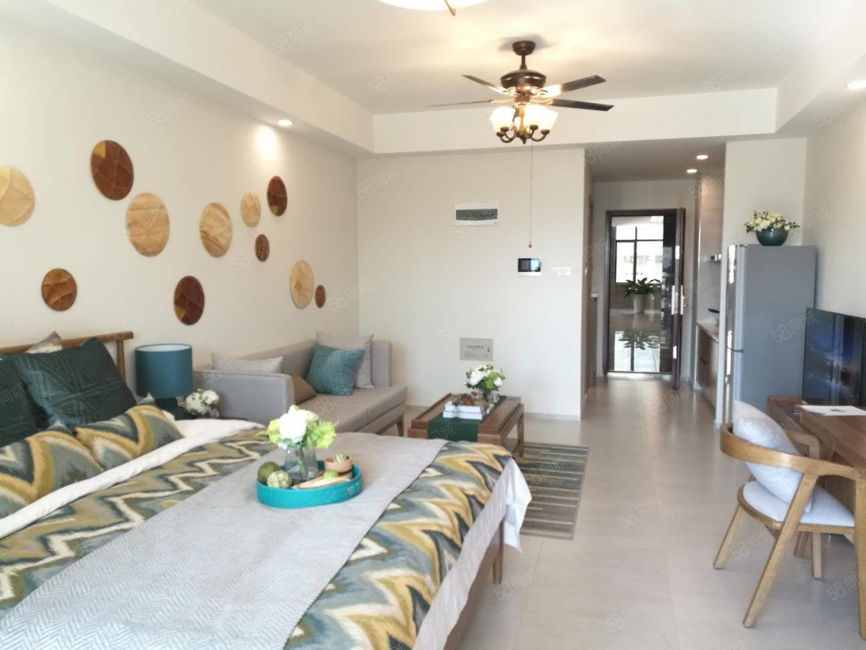 西双版纳高铁新城老挝磨丁精装公寓柠檬公寓无优托管