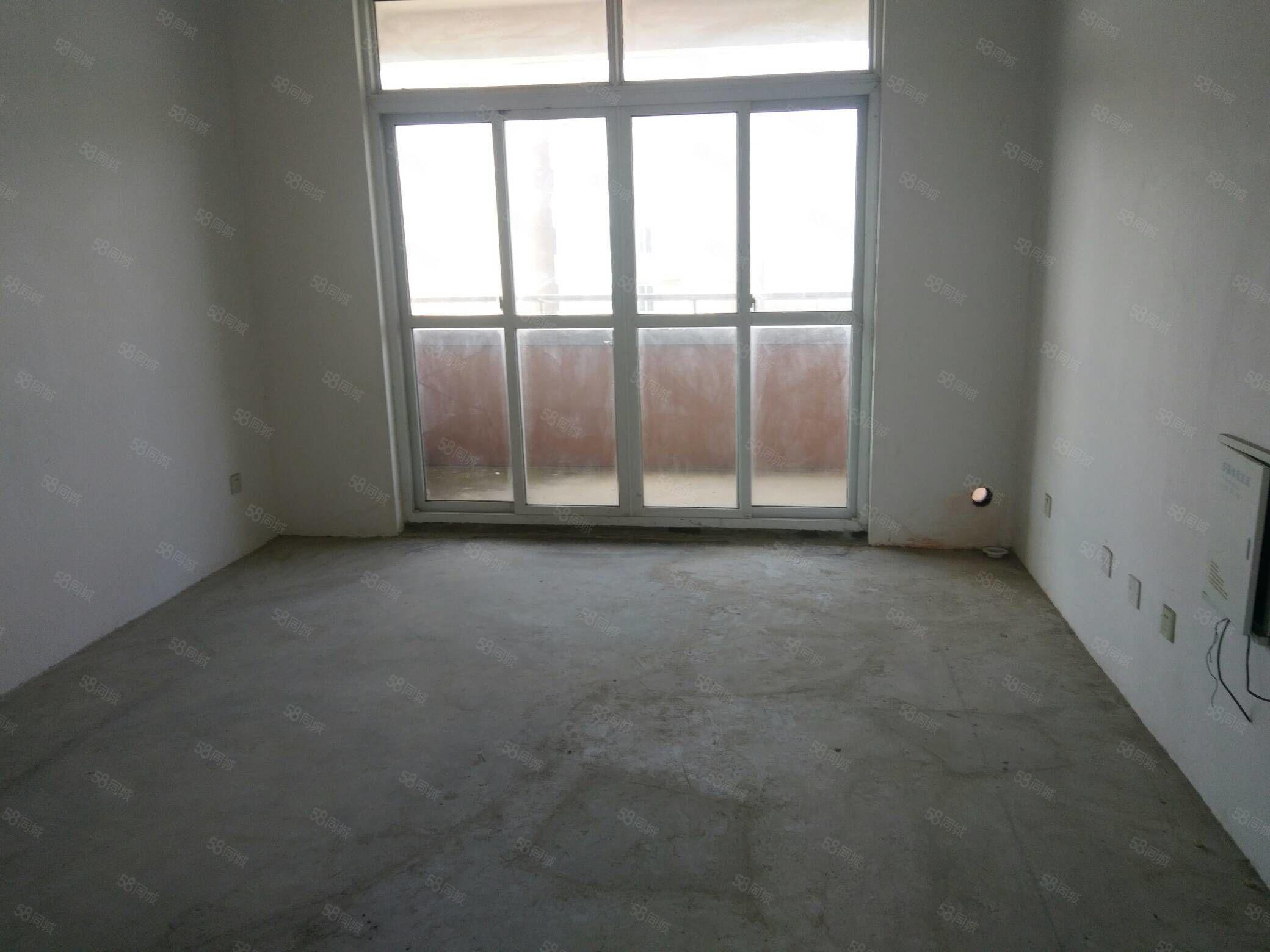 城东花园二室二厅,全新毛坯南北通透全天采光诚心出售