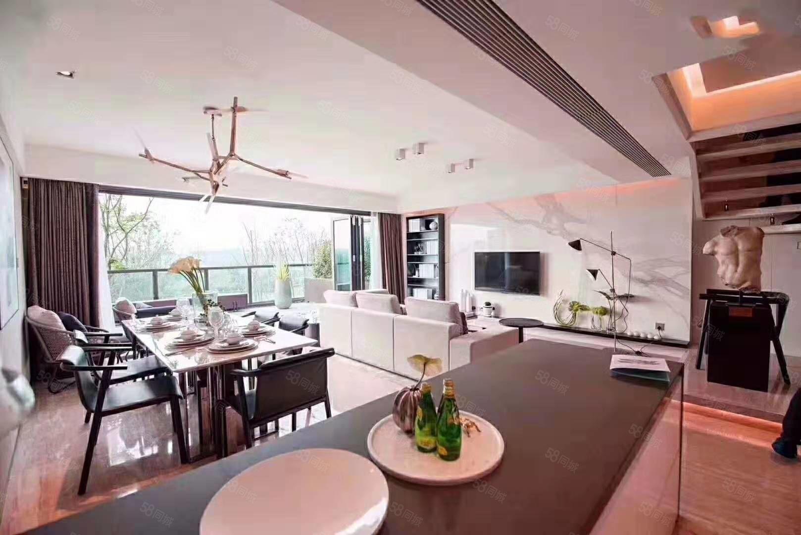 商业别墅78变200  一层空间享受双层  双公园环绕