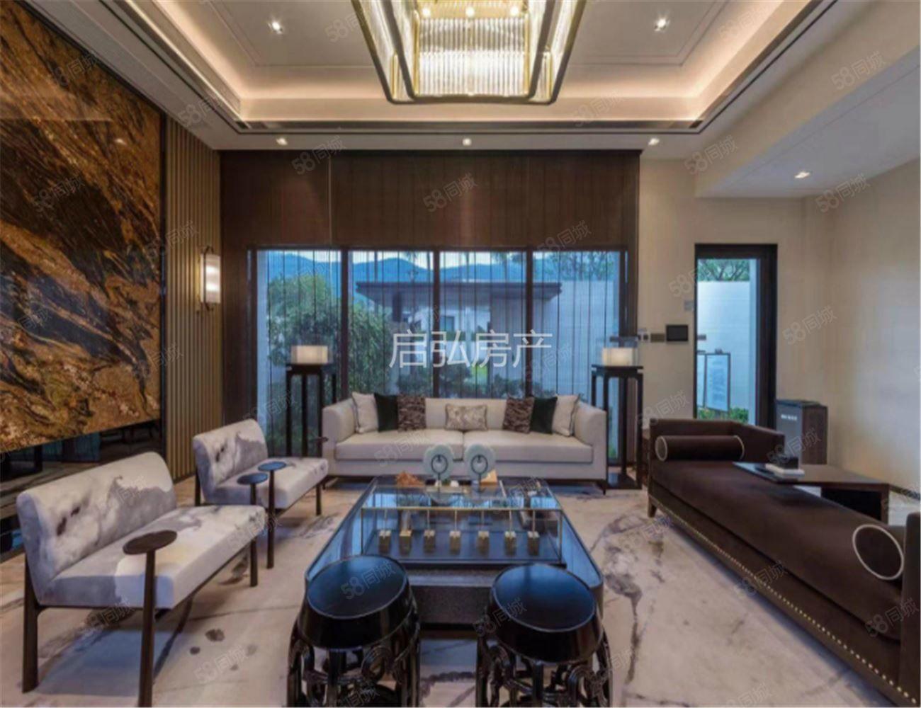 总价450万起融创海棠湾纯独栋别墅带泳池花园