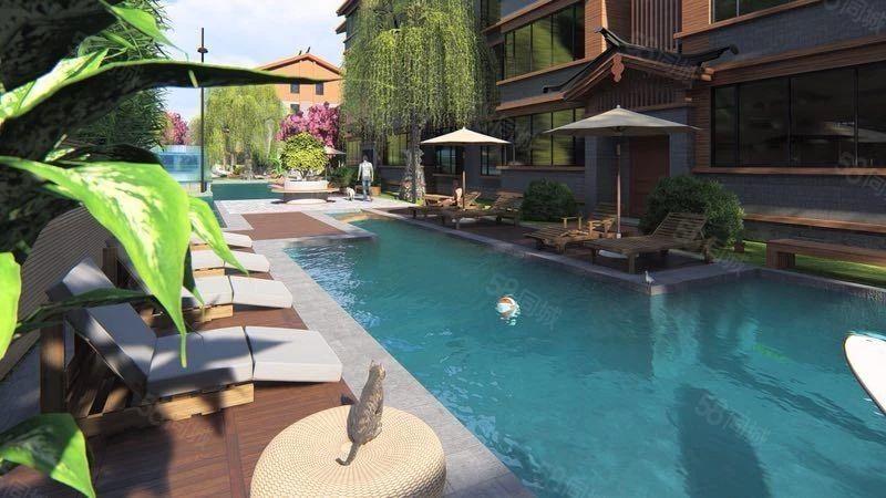 丽江古城旁绿景家园70年产权精装公寓一年12万净收
