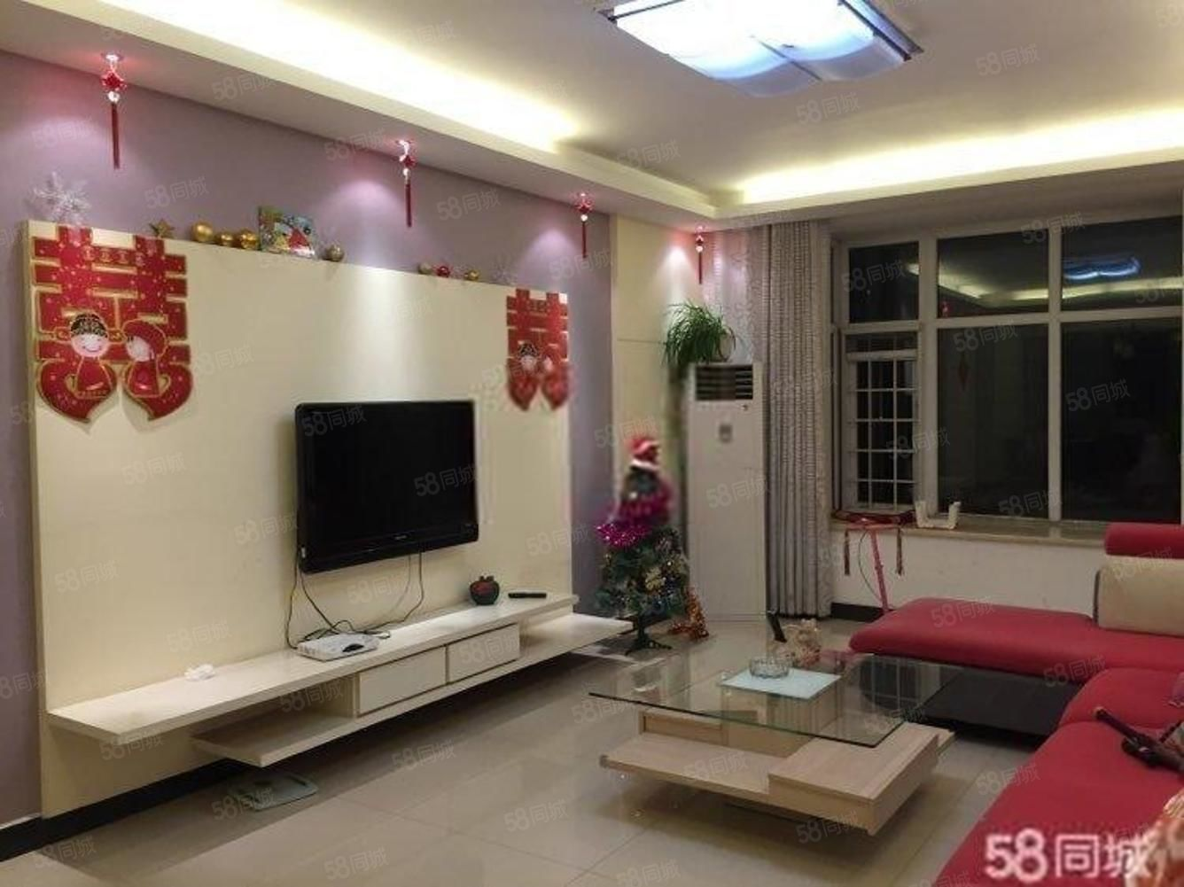 西班牙玫瑰~全明格局~交通便利~低楼层~新装3居室~南北通透
