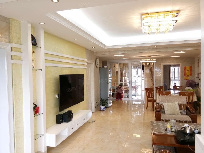 金城丽都电梯大4房,三面采光,精致装修+品牌家具、家电