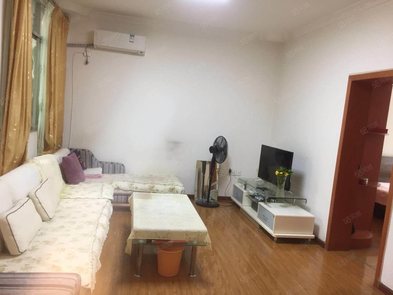 老城草坝街两室两厅一卫精装修家具,家电齐全三台空调