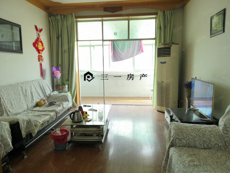 三一房產,中心大街,安居小區,84平2室,簡裝,可按揭!