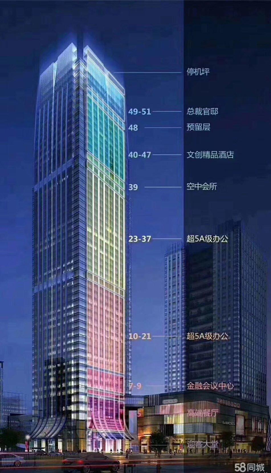 青岛舜宁国际金融中心,不限购,西海岸地标建筑