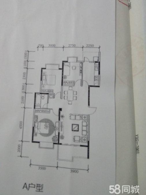 天秀苑107平3室2厅一厨一卫急售