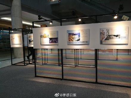 """【孝感新�】香港特�^政府�v武�h��Q�k""""�B系・香港""""巡回展在孝�e�k"""